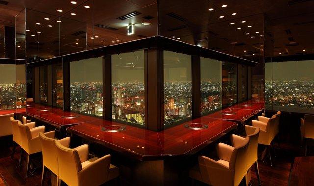 恵比寿 ランチ 夜景